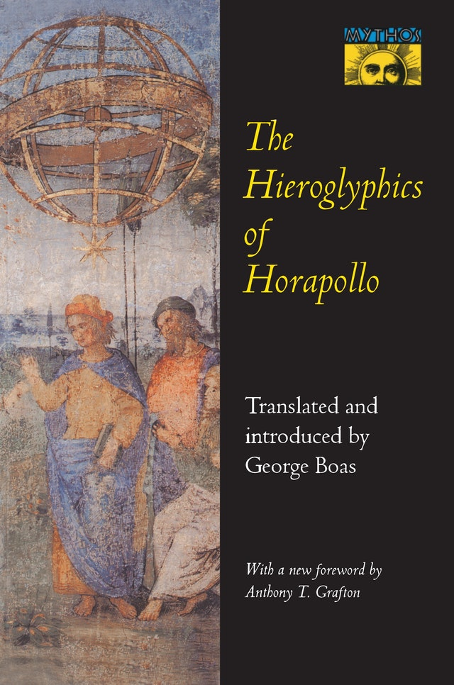 The Hieroglyphics of Horapollo