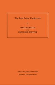 The Real Fatou Conjecture. (AM-144), Volume 144