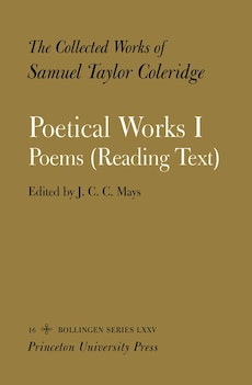 The Collected Works of Samuel Taylor Coleridge, Vol. 16, Part 1