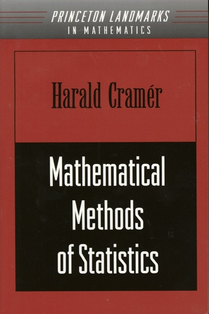Mathematical Methods of Statistics (PMS-9), Volume 9