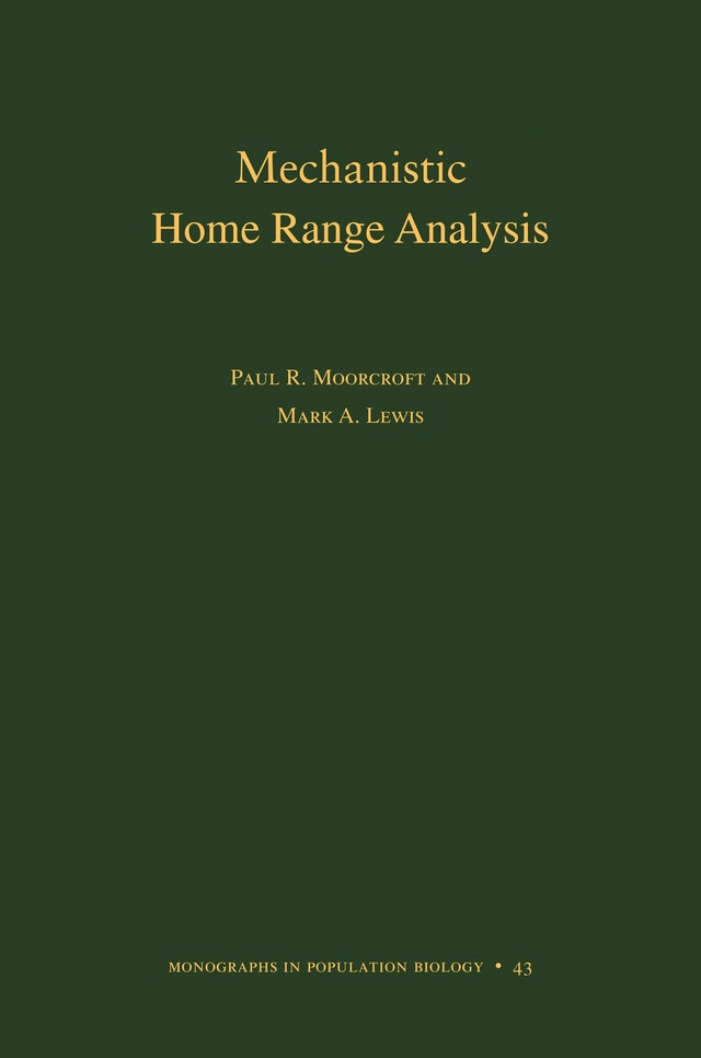 Mechanistic Home Range Analysis. (MPB-43)