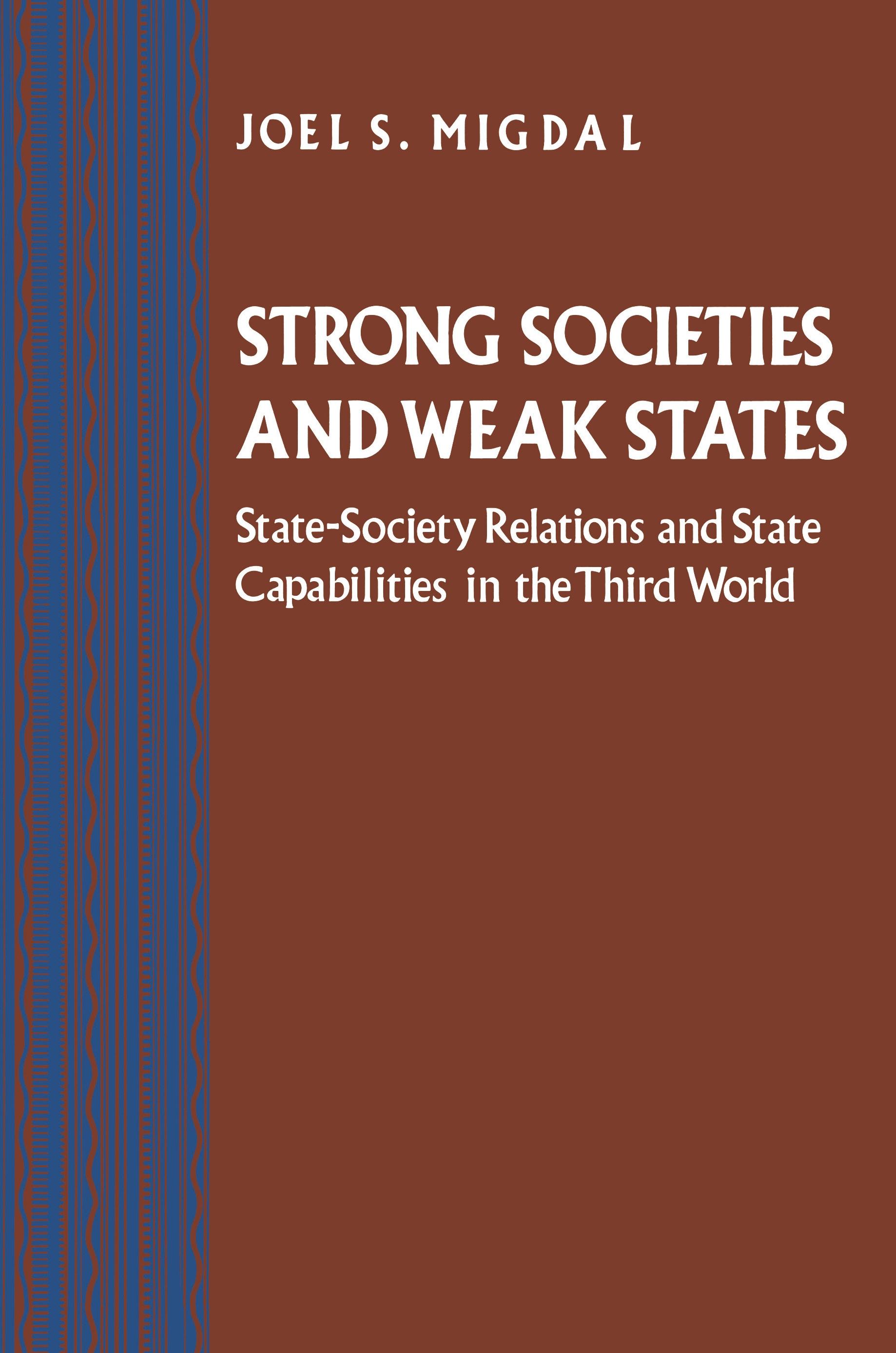 Strong Societies and Weak States | Princeton University Press