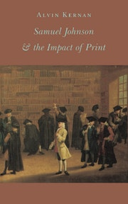 Samuel Johnson and the Impact of Print