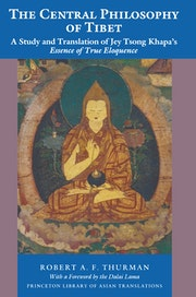 The Central Philosophy of Tibet