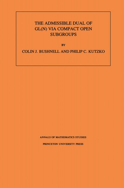 The Admissible Dual of GL(N) via Compact Open Subgroups. (AM-129), Volume 129