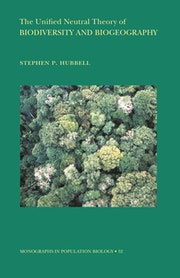 The Unified Neutral Theory of Biodiversity and Biogeography (MPB-32)