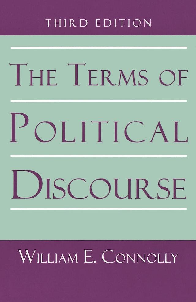 The Terms of Political Discourse.