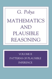 Mathematics and Plausible Reasoning, Volume 2