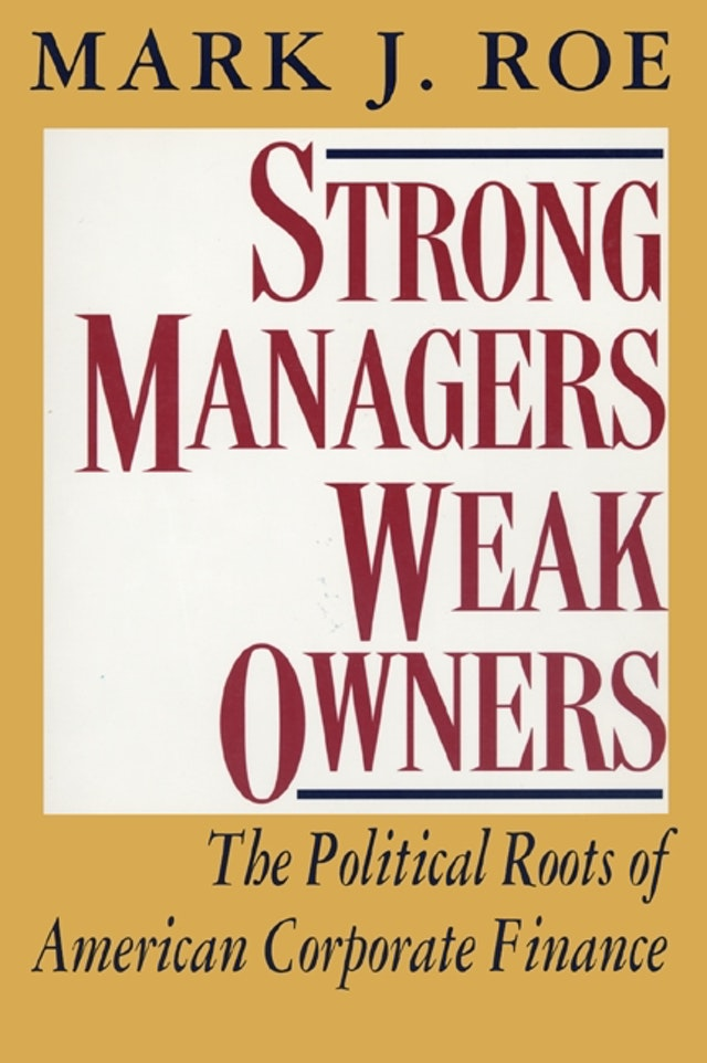 Strong Managers, Weak Owners