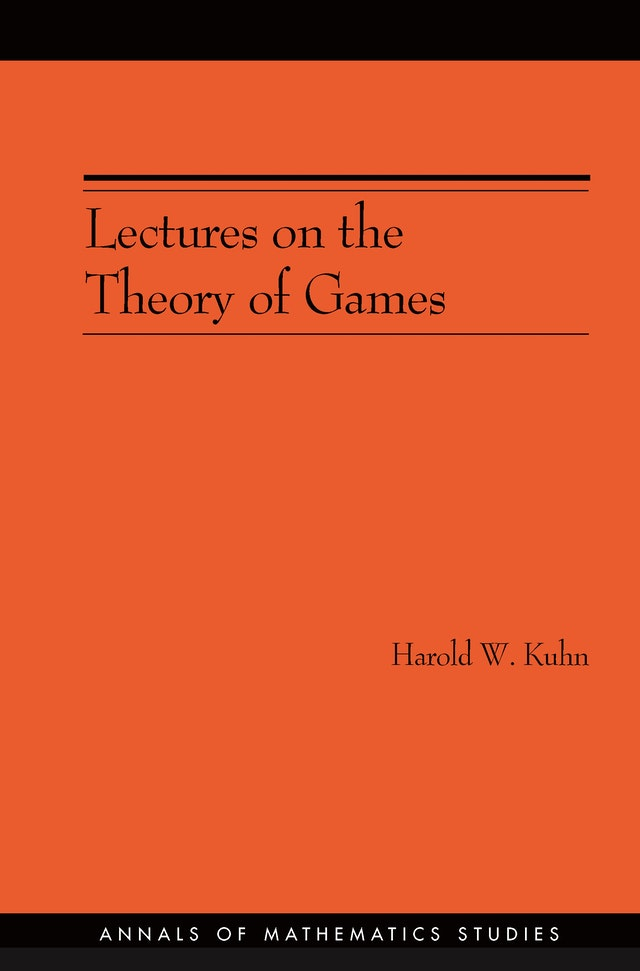 Lectures on the Theory of Games (AM-37)