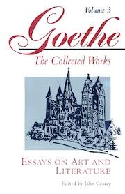 Goethe, Volume 3