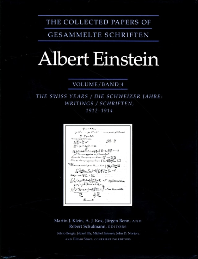 The Collected Papers of Albert Einstein, Volume 4