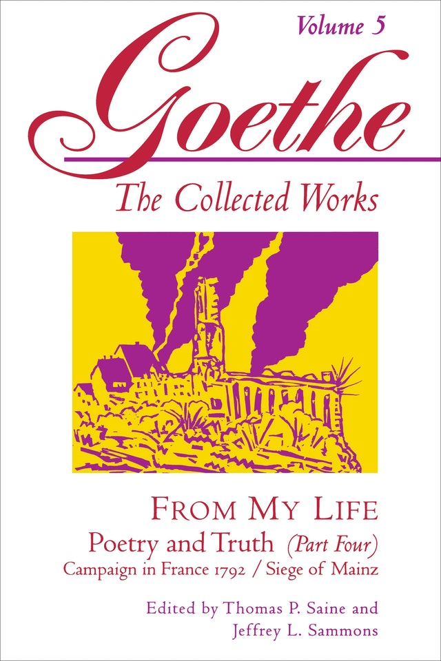 Goethe, Volume 5