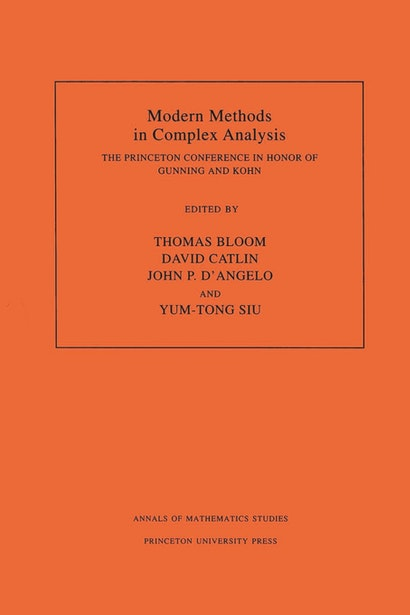 Modern Methods in Complex Analysis (AM-137), Volume 137