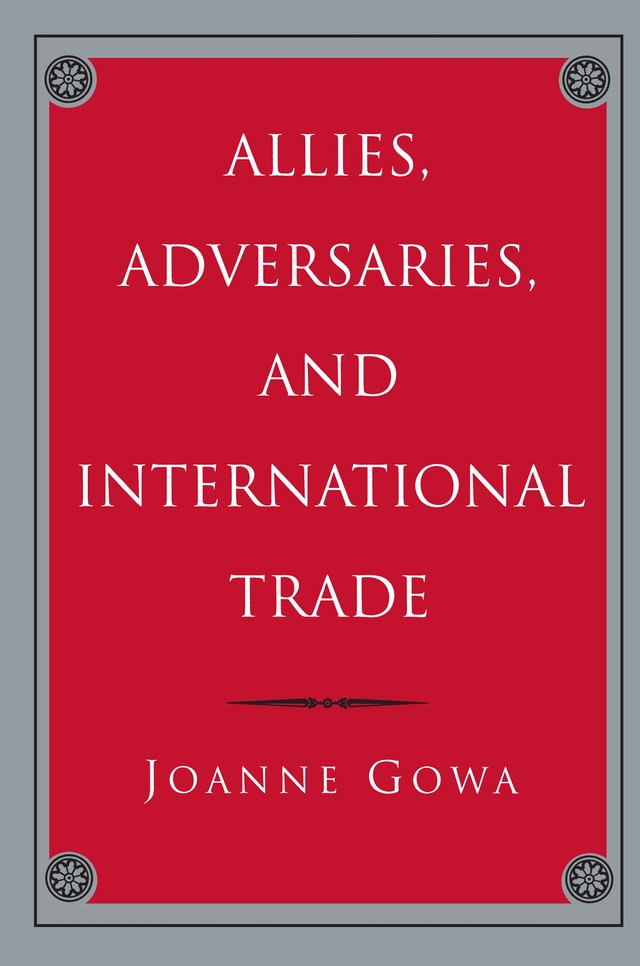Allies, Adversaries, and International Trade