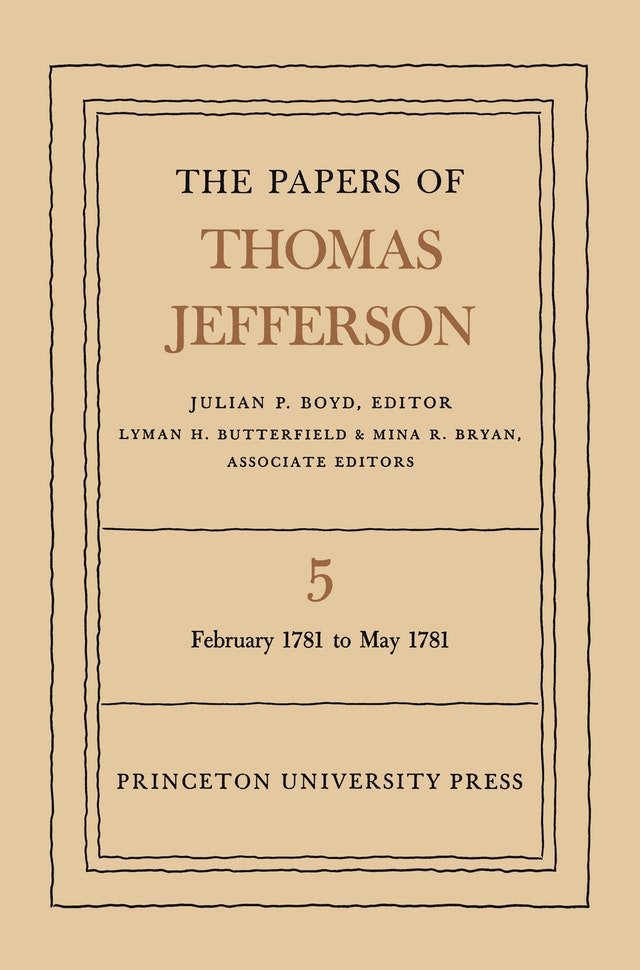 The Papers of Thomas Jefferson, Volume 5