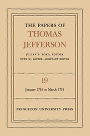 The Papers of Thomas Jefferson, Volume 19