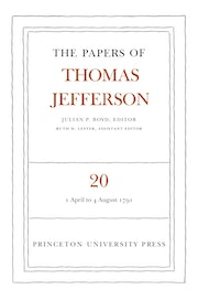 The Papers of Thomas Jefferson, Volume 20