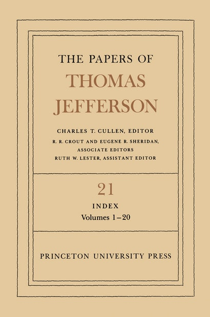 The Papers of Thomas Jefferson, Volume 21