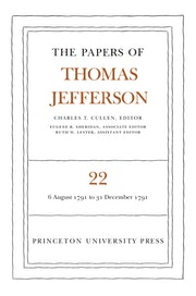 The Papers of Thomas Jefferson, Volume 22