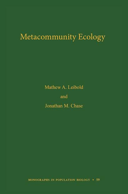 Metacommunity Ecology, Volume 59