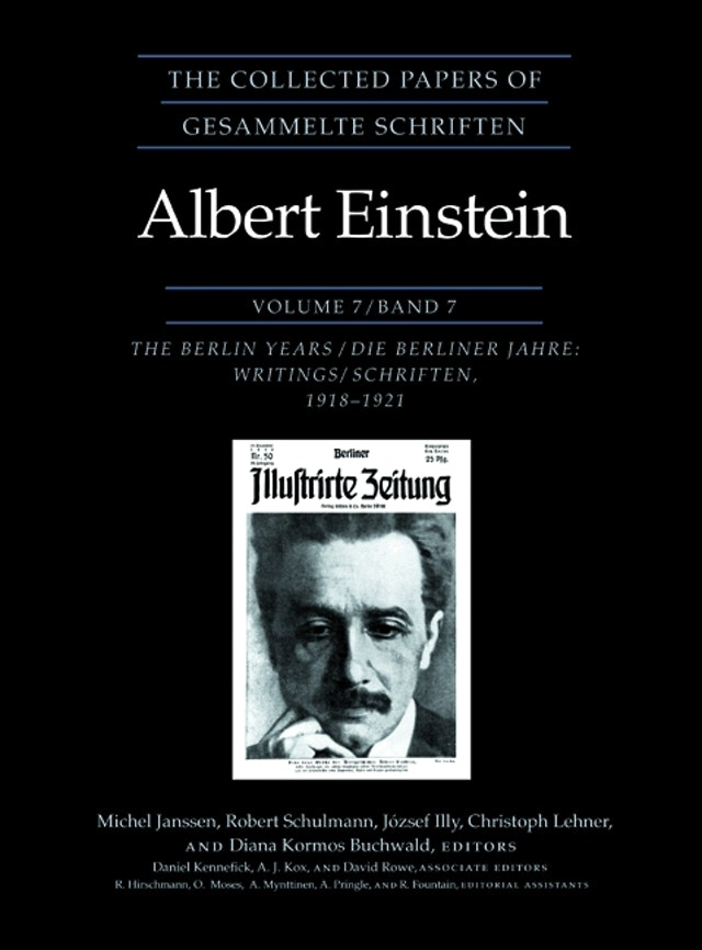 The Collected Papers of Albert Einstein, Volume 7