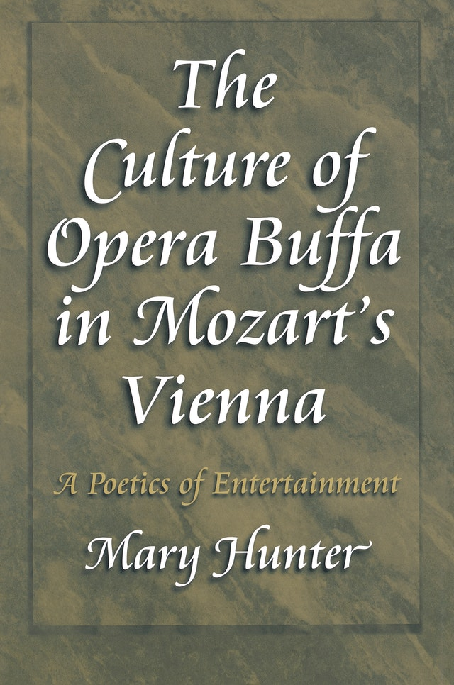 The Culture of Opera Buffa in Mozart's Vienna