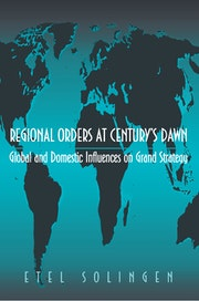 Regional Orders at Century's Dawn