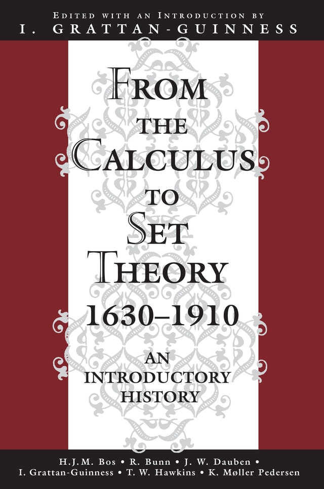From the Calculus to Set Theory 1630-1910