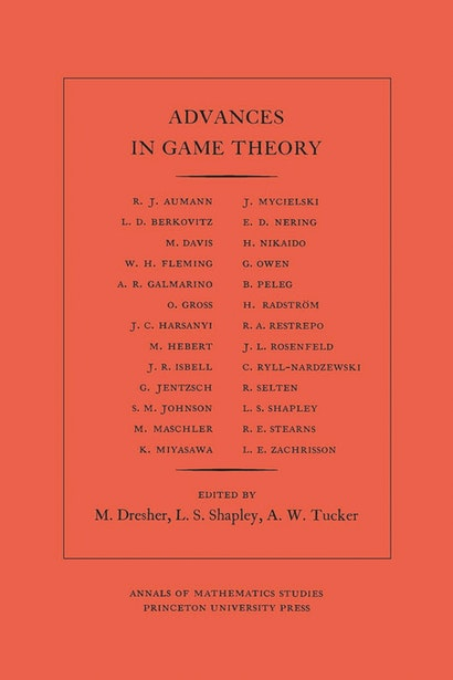 Advances in Game Theory. (AM-52), Volume 52
