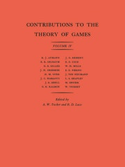 Contributions to the Theory of Games (AM-40), Volume IV