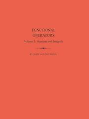 Functional Operators (AM-21), Volume 1