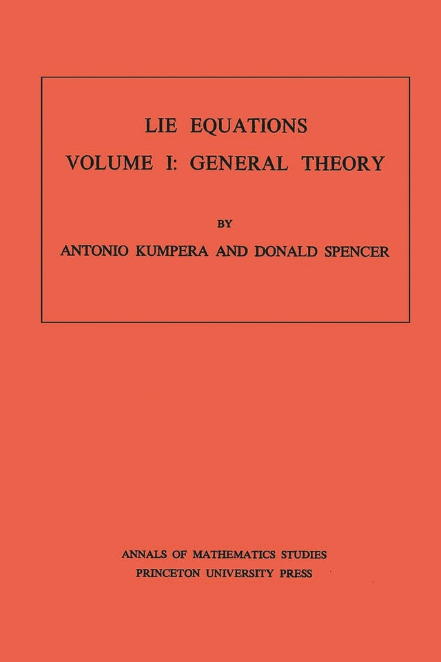 Lie Equations, Vol. I