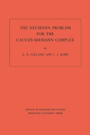 The Neumann Problem for the Cauchy-Riemann Complex. (AM-75), Volume 75