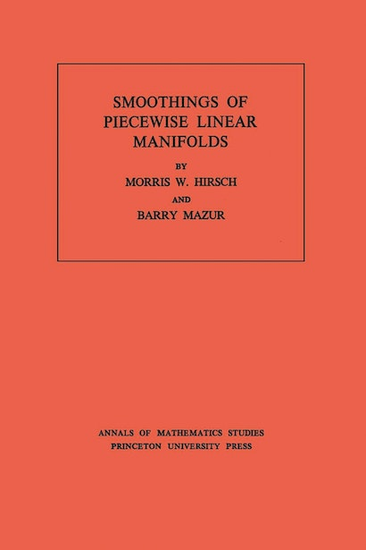 Smoothings of Piecewise Linear Manifolds. (AM-80), Volume 80