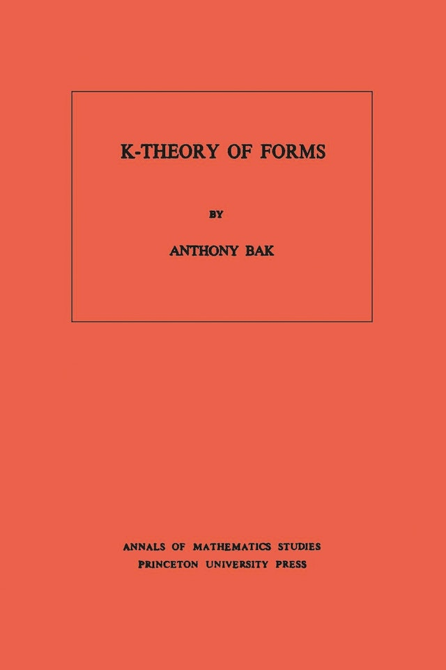 K-Theory of Forms. (AM-98), Volume 98