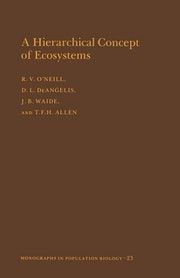 A Hierarchical Concept of Ecosystems. (MPB-23), Volume 23