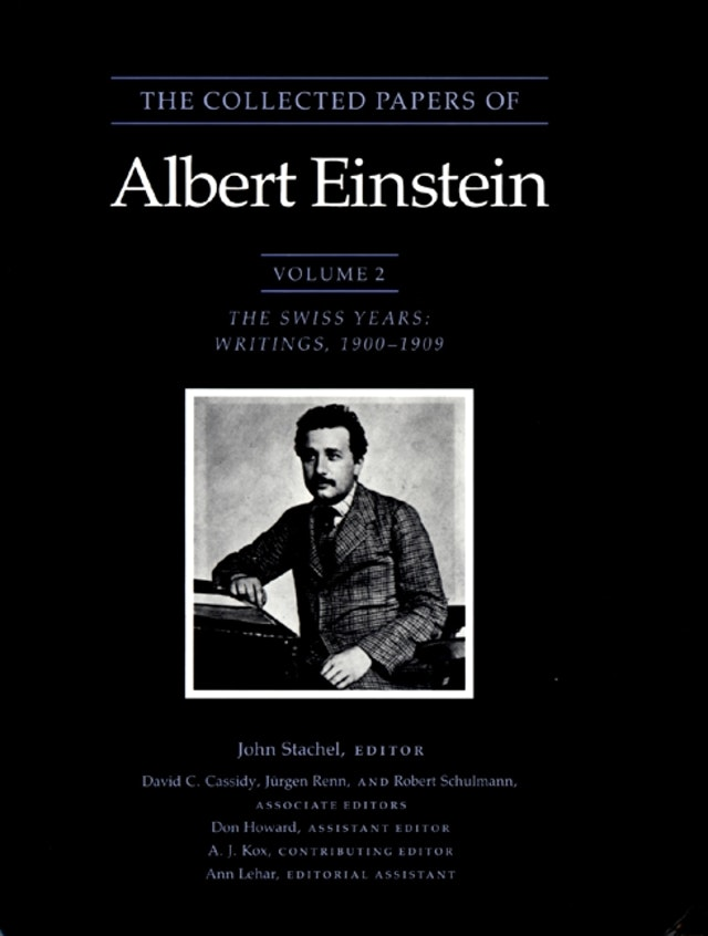 The Collected Papers of Albert Einstein, Volume 2