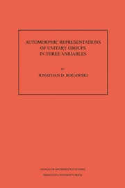 Automorphic Representation of Unitary Groups in Three Variables. (AM-123), Volume 123
