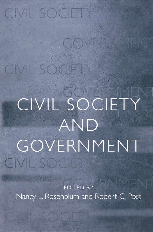 Civil Society and Government