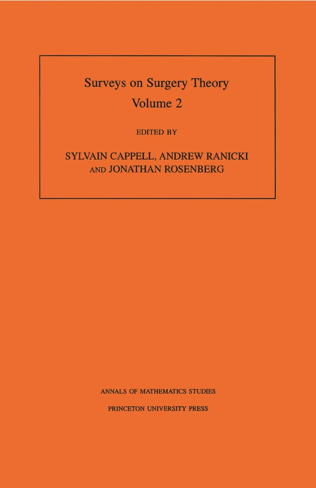 Surveys on Surgery Theory (AM-149), Volume 2