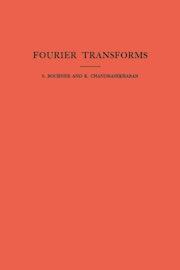 Fourier Transforms. (AM-19), Volume 19