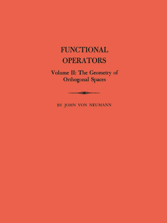 Functional Operators (AM-22), Volume 2