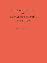 Existence Theorems in Partial Differential Equations. (AM-23), Volume 23