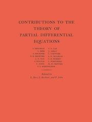 Contributions to the Theory of Partial Differential Equations. (AM-33), Volume 33