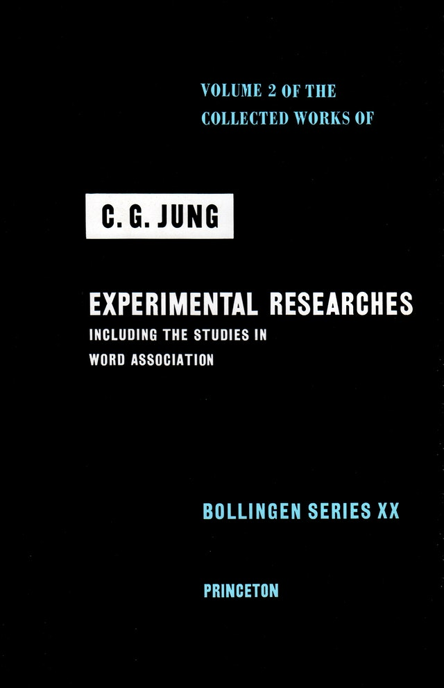 Collected Works of C.G. Jung, Volume 2