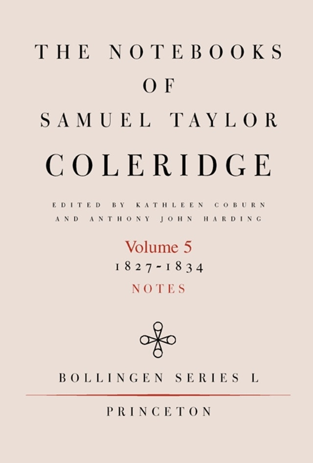 The Notebooks of Samuel Taylor Coleridge, Volume 5
