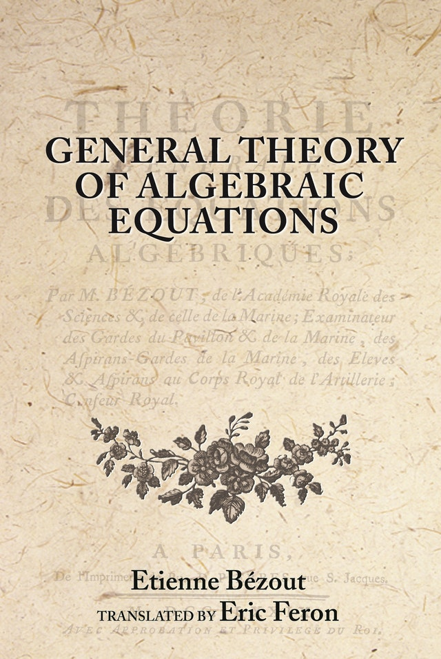 General Theory of Algebraic Equations
