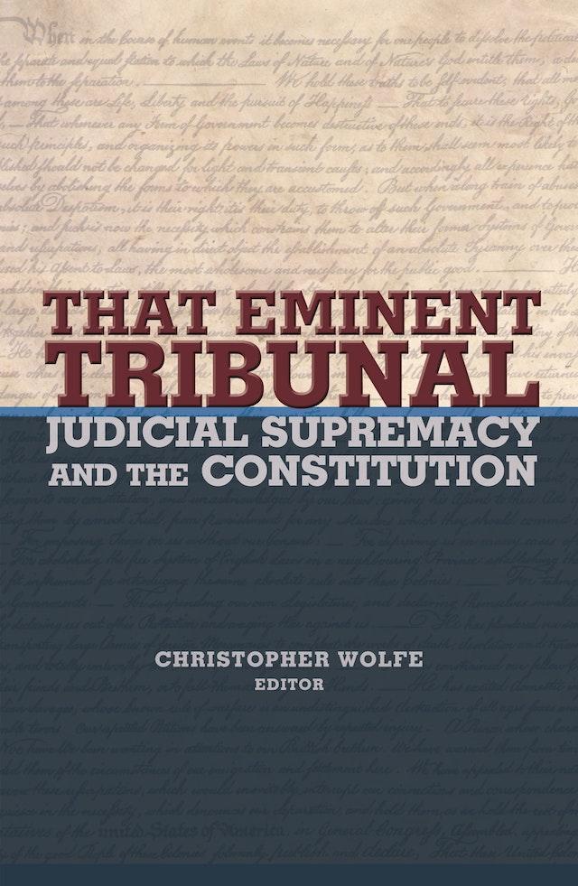 That Eminent Tribunal