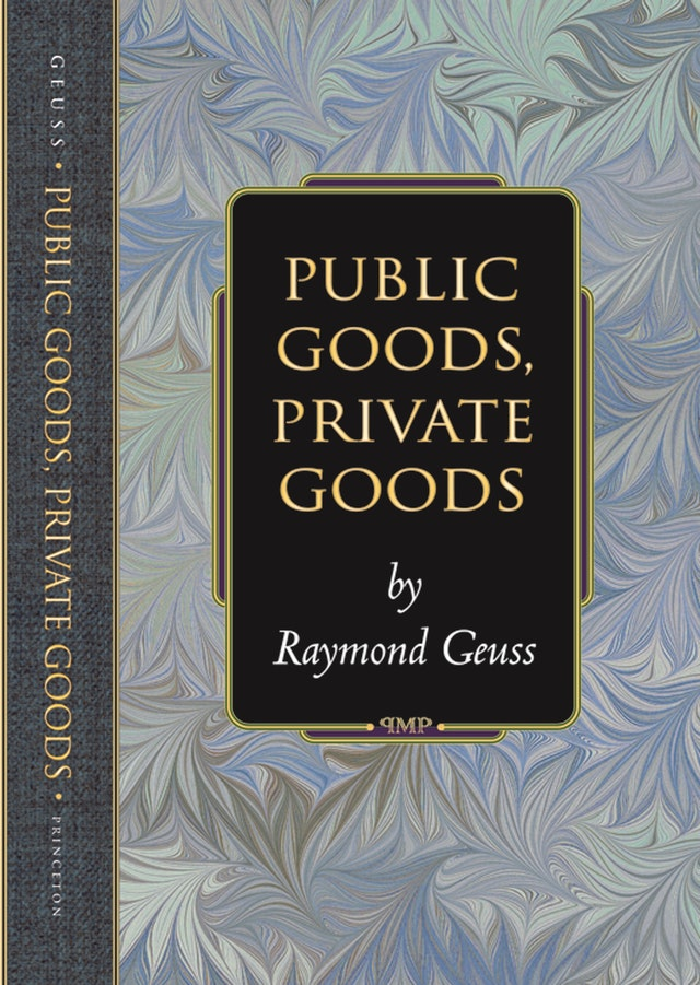 Public Goods, Private Goods